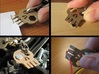 ''Skull'' Keychain / Pendant Multitool 3d printed A few different uses...