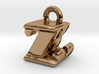 3D Monogram - ZBF1 3d printed
