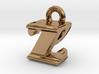 3D Monogram - ZPF1 3d printed