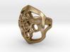 Circled Emblem Ring - EU Size 62 3d printed