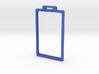 Badge minimal frame with tab - 20141103-01 3d printed