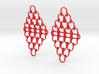 U Link Earrings 3d printed