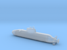 1/700 Dolphin class submarine 3d printed
