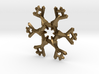 Snow Flake 6 Points A - 5cm 3d printed