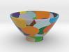 DRAW bowl - random sphere matrix 3d printed
