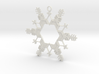 Snow Flake Ornament, Outer piece 3d printed