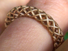 Wire mesh ring (US 6¼) 3d printed