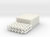 64-Tetrahedron Cube Half-pack #white 3d printed