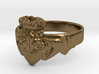 NOLA Claddagh, Ring Size 10 3d printed