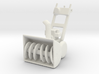 """1:43 28"""" 2-Stage Personal Snow Blower 3d printed"""