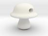Baby Portabella Mushroom Bead 3d printed