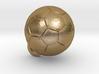 SOCCER BALL FOOTBALL (Pendant or Earring) 3d printed