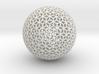 Diamond Sphere Mesh 3d printed