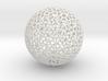 Floral Pattern Sphere 3d printed