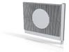 Beton Schallschutzwand mit Kreiselement V1 1 stl 3d printed