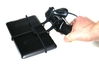 Xbox 360 controller & Samsung Galaxy Tab Pro 12.2  3d printed In hand - A Nexus 7 and a black Xbox 360 controller