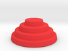 Devo Hat   15mm diameter miniature / NOT LIFE SIZE 3d printed