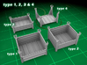 Stackable Container Set 4 3d printed