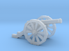 "Mini Cannon French 4 Pound  7/8"" Long 3d printed"
