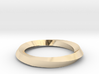 Mobius Wedding Ring-Size 5, multiple sizes listed 3d printed