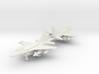 1/285 F-16C Block 52+ (Single seat) (x2) 3d printed