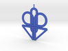 Knotted Pendant 3d printed