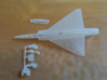020A Mirage IIID - 1/144  3d printed