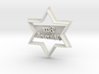 Bar Mitzva Star of David - Cookie cutter 3d printed