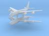 1/700 KC-135 Stratotanker (x2) 3d printed