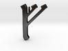 Rune Pendant - Feoh 3d printed