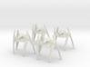 4x Vulture Droid (Walking) 1/270 3d printed