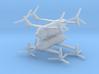 1/600 Bell Boeing Quad Tiltrotor (x2) 3d printed