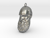 "Charles Darwin 1"" Head, Pendant, Ear Ring, Charm,  3d printed"