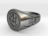Sanctum Sanctorum Ring 3d printed