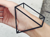 Triangle Bracelet -  Small 3d printed