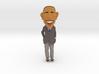Funny Barack Obama Caricature ! 3d printed