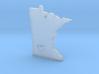 I Love Minnesota Pendant 3d printed