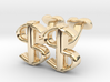 USD Dollar Cufflinks, Money Range 3d printed