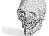 Voronoi Skull Pendant small  3d printed