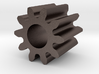 Spur Gear M1 Z10 3d printed