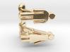 Stylized Male and Female Cufflinks, FUN set 3d printed