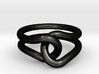 Rubber Band Ring 3d printed