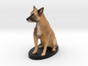 Custom Dog Figurine - Caesar 3d printed