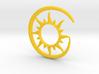 Earhook-Sun 3d printed