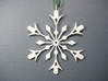 Snowflake Holiday Decor - Tree Ornament 3d printed Snowflake Ornament