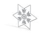 Snowflakes Series II: No. 1 3d printed