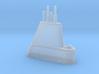 1/700 USS Cubera (SS-347) Submarine Sail 3d printed