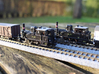 DSB F class N scale (with no tender extension) 3d printed this model is the one in the background, browser my inventory to see other versions