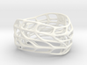 Panel Twist Bracelet Hollow (Sz SM) Thicker S 3d printed