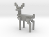 8bit reindeer with rounded corners 3d printed